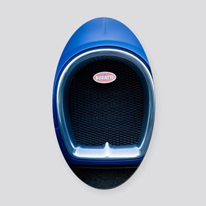 Bugatti4 Oval Car Magnet