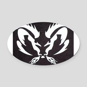Dodge Ram Oval Car Magnet