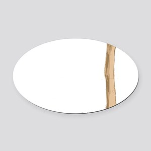 Humerus Oval Car Magnet
