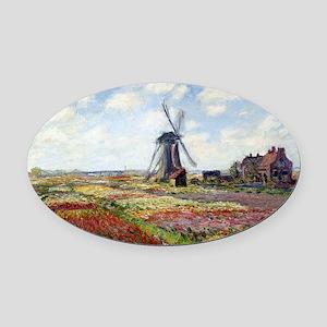 Monet Oval Car Magnet