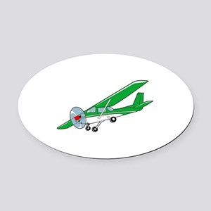Cessna One Fifty Oval Car Magnet
