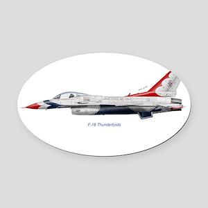 thun14x10_print Oval Car Magnet