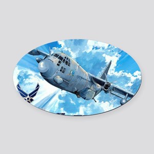 Air Force AC-130 Spectre Oval Car Magnet