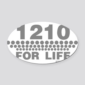 1210 For Life Oval Car Magnet