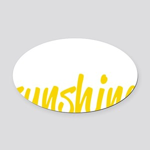 miss sunshine Oval Car Magnet