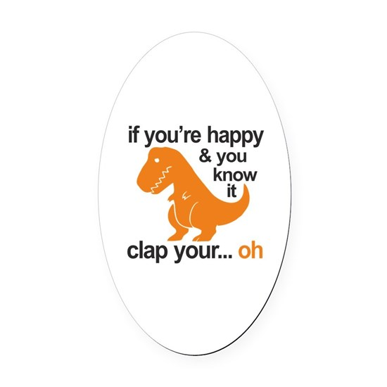 T-Rex clap your hands