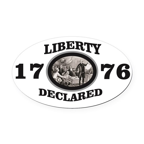 1776 liberty declared