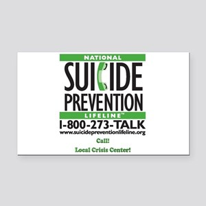 National Suicide Prevention 10 Rectangle Car Magne