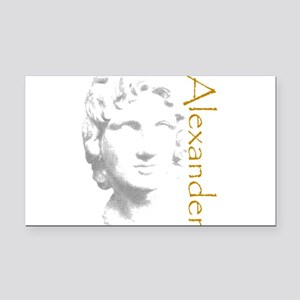 ALEXANDER THE GREAT Rectangle Car Magnet