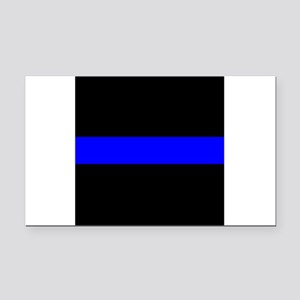 Police: The Thin Blue Line Rectangle Car Magnet