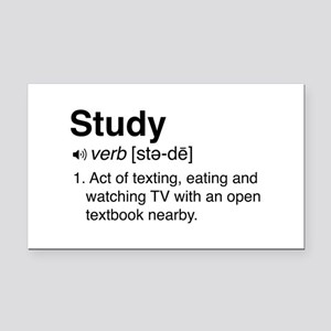 Study definition Rectangle Car Magnet