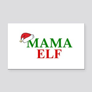 MAMA ELF Rectangle Car Magnet