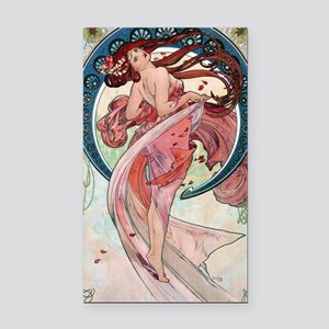 Alfons Mucha 1898 Dance Rectangle Car Magnet