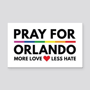 Pray For Orlando Rectangle Car Magnet