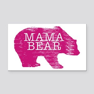 MaMa Bear Rectangle Car Magnet