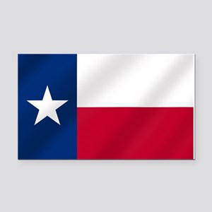 Texas State Flag Rectangle Car Magnet