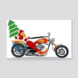 Have a Harley Christmas Rectangle Car Magnet
