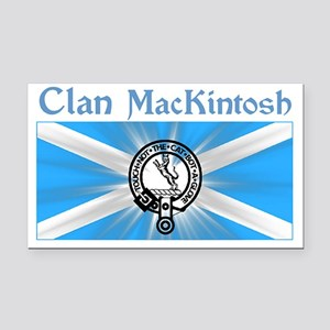 mackintosh-shirt-001a1a Rectangle Car Magnet