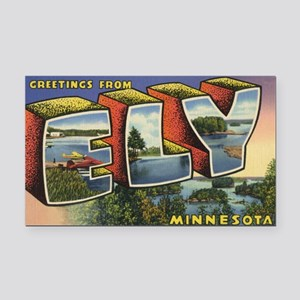 Ely_Print Rectangle Car Magnet