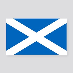 Scottish Flag Rectangle Car Magnet