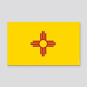 New Mexico State Flag Rectangle Car Magnet