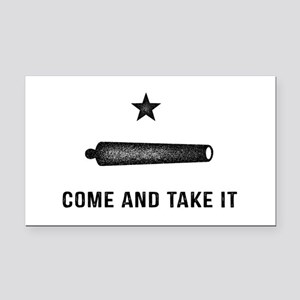 Gonzales Flag Rectangle Car Magnet