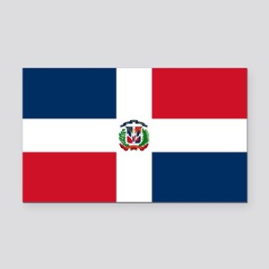 Dominican Republic Flag Rectangle Car Magnet