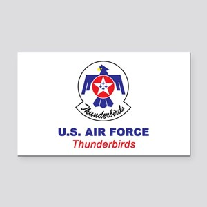 United States Air Force Thund Rectangle Car Magnet
