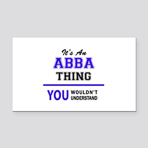 ABBA thing, you wouldn't unde Rectangle Car Magnet