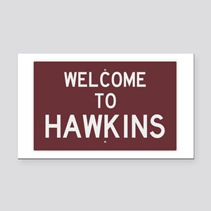 Welcome to Hawkins Rectangle Car Magnet