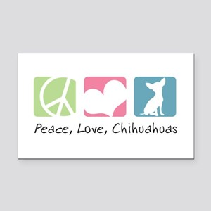 peacedogs Rectangle Car Magnet