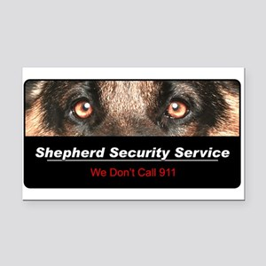 security4 Rectangle Car Magnet