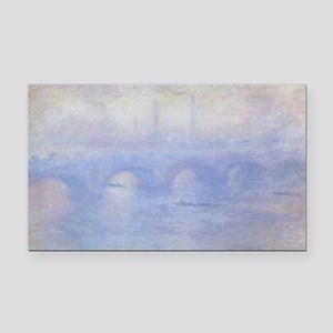 Waterloo Bridge by Claude Mon Rectangle Car Magnet