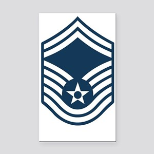 USAF-SMSgt-X Rectangle Car Magnet