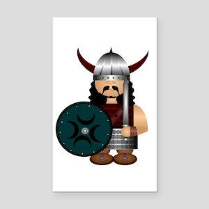 Viking Rectangle Car Magnet