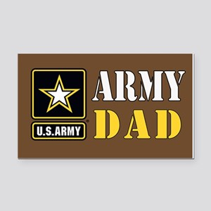 ArmyDad_0414 Rectangle Car Magnet