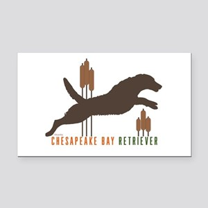 Chesapeake Bay Retriever Rectangle Car Magnet