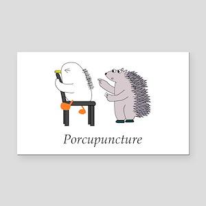 Acupuncture Rectangle Car Magnet