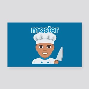 Emoji Master Chef Rectangle Car Magnet