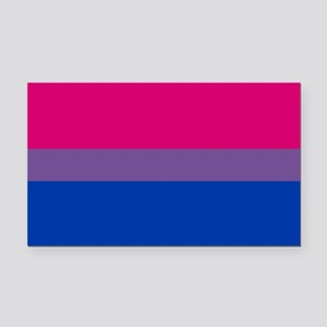 Bisexual Pride Flag Rectangle Car Magnet
