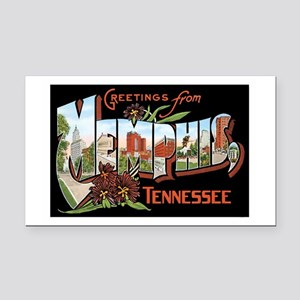 Memphis TN Rectangle Car Magnet