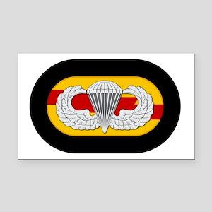75th Ranger Airborne Rectangle Car Magnet