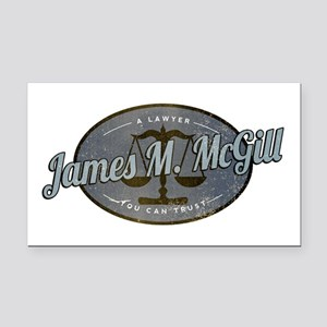 James McGill Lawyer Retro Rectangle Car Magnet