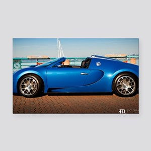 Bugatti6 Rectangle Car Magnet