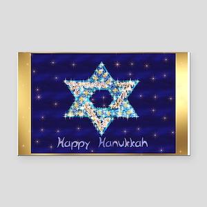Gems and Sparkles For Hanukka Rectangle Car Magnet