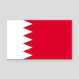 Bahrain Rectangle Car Magnet