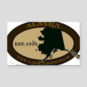 Alaska Est 1959 Rectangle Car Magnet
