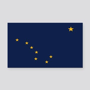 Flag of Alaska Rectangle Car Magnet