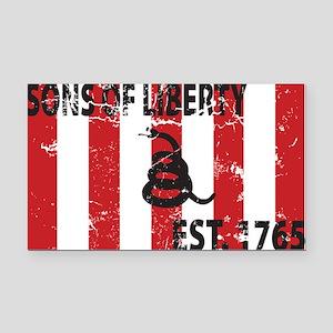 Sons of Liberty Est. 1765 Rectangle Car Magnet
