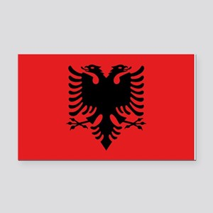 Flag of Albania Rectangle Car Magnet